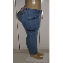 Calça Jeans Feminina Marca Denim Tam.42 C/ Strech S6
