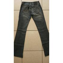 Calça Jeans Flare Feminina Com Elastano Ellus