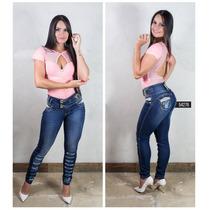 Calça Rhero Jeans Levanta E Modela Bumbum! C/ Bojo Removível