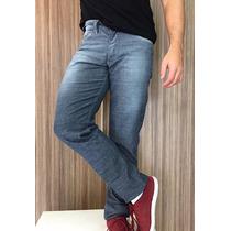 Calça Jeans Lycra Masculina Stretch Confort Quality