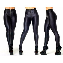 Calças Feminina Legging De Suplex Brilho Fitness Hot Pants
