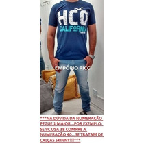 Calça Jeans: Quiksilver / Calvin Klein / Oakley, Kit 5 Peças
