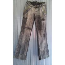Calça Jeans Feminina N° 38 Rajada