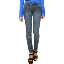 Calça Feminina Jeans Animal Print