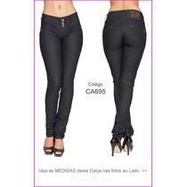 Calça Feminina Sawary Tenho Hot Pants Flare Modela Lycra 695