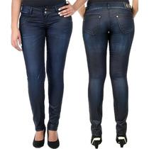 Calça Jeans Sawary Feminina Azul Marinho