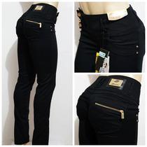 Calça Sawary Jeans Cintura Média Muito Strech Levanta Bumbum