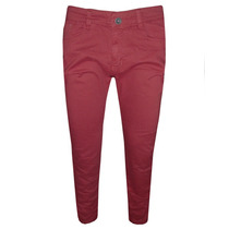 Calça Jeans Calvin Klein Vinho Elastano Ck911