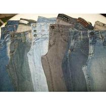 Lote 10 Calças Jeans Feminina Tamanho 38