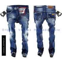 Calça Jeans Masculina Dsquared 2016 Top - Alta Qualidade