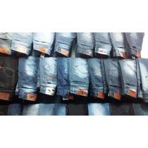 Kit C/ 5 Calças Jeans Lacoste Hollister Quiksilver Oakley