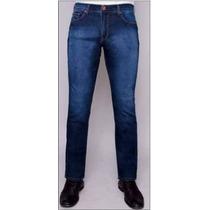 Calça Jeans Masculina Lycra Slim Fit,comfort 36 Ao 48