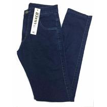 Calça Masculina Jeans Básica Blue Plus Size Pequeno Defeito