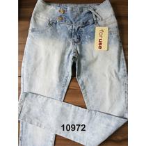 Calça Jeans For Use Cigarrete Baixa Levanta Bumbum Com Elast