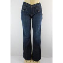 7 For All Mankind Inicialização Cut Jeans Escuro Wash