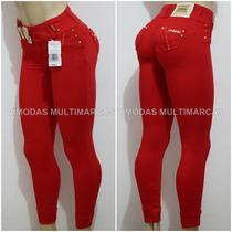 Calça Rhero Jeans Escuro Estilo Pit Bull Modela Bumbum !!!