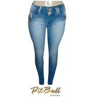 Calça Jeans Pitbull Feminina Ptb531 + Frete Grátis