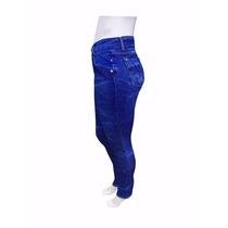 Calça Jeans Feminina Cós Alto Levanta Bumbum Promoção