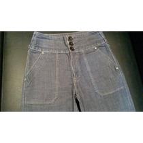 Calça Jeans Flare Feminina Da Zoomp Super Alta