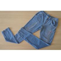 Calça Lilica Ripilica Jeans Com Elástico No Cos