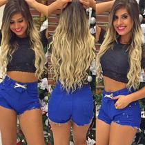 Shorts Jeans Hot Pants Sal E Pimenta Sj020