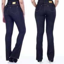 Sawary Jeans Hot Pant Calça Cintura Alta