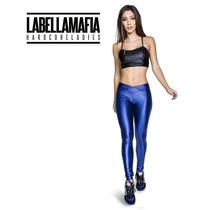Calça Legging Labellamafia Cv03 Azul Promoçao Frete Gratis