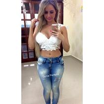 Calça Sawary Jeans Modela Bumbum Com Elastano