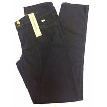 Calça Feminina Jeans Plus Size Ocre Marinho 44 Ao 60