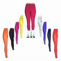 3 Kit Calça Legging Feminina Fusô Ginástica Moda Bolha