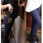 Calça Leggin Leg Quentinha Forrada Fashion Jeans