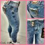Calça Jeans Feminina Pit Bull Pitbull Com Enchimento