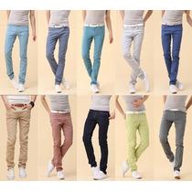 Calça Jeans Demin Import 2015 - Várias Cores - Qualidade