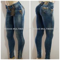 Calça Pit Bull Jeans Com Elastano Com Bojo Levanta Bumbum!!!