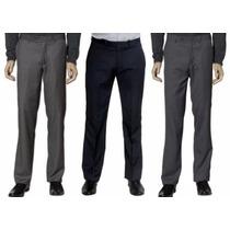 Calça Social Masculina Preta, Vigilante, Garçom, Segurança