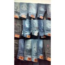 Kit C/10 Calças Jeans Lacoste Hollister Quiksilver Oakley