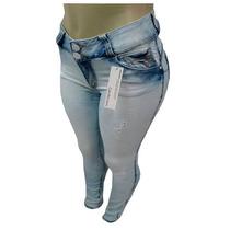 Calça Jeans Feminina Colcci Clara Detalhes Azuis