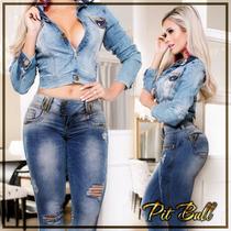 Calça Pit Bull Jeans Original Coleção Nova Com Modela Bumbum