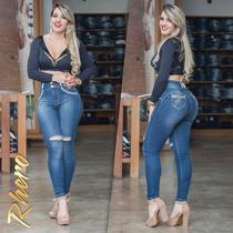 Calça Rhero Jeans Hot Pants Com Bojo Removível