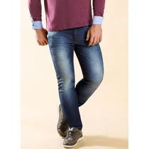 Calça Jeans Masculina Lycra Stretch Slin
