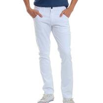 Calça Jeans Sarja Masculina Skinny Stretch Veste Muito Bem