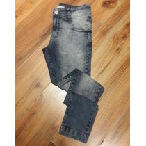 Calça Jeans Skinny Original Moda Manchada Masculina Elefant