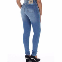 Sawary Jeans Hot Pants Calça Cintura Alta