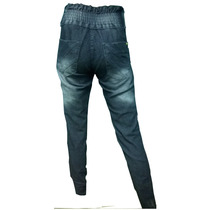 Calça Jeans Feminina Cintura Alta Strech Elastano Lycra