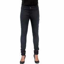 Calça Jeans Feminina Básica Preta Skinny Paty