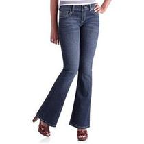 Calça Feminina Flare Jeans Importada Com Elastano