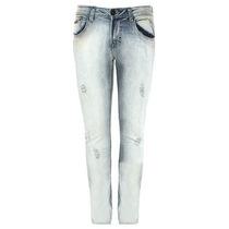 Calça Masculina Sarja, Jeans Com Lycra,skinny Pronta Entrega