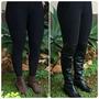 Calça Legging Montaria Tecido Disfarça Celulite Plus Size