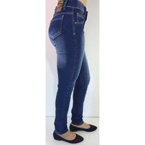 Calça Jeans Feminina Strach Cos Alto E Levanta Bumbum