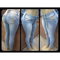 Pit Bull Pitbull Calças Jeans Feminina